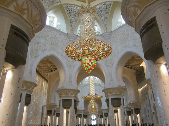 Sheikh  Zayed Mosque: Люстра