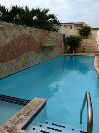 Hotel Melia Ponce: The hotel pool