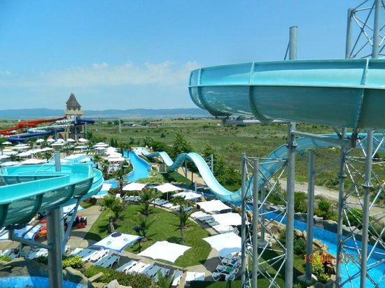 Nessebar, Bułgaria: More slide means more fun