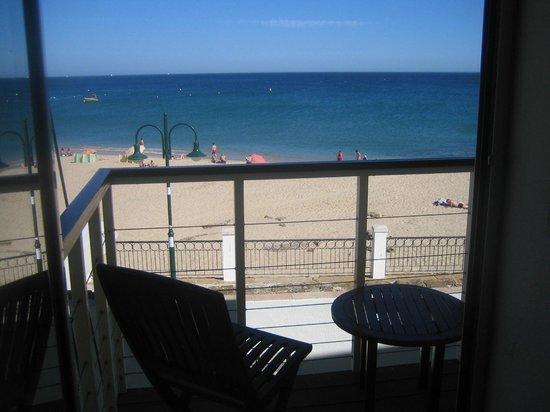 Luz Beach Apartments: vista sulla spiaggia dall'appartamento per 2 persone fronte oceano