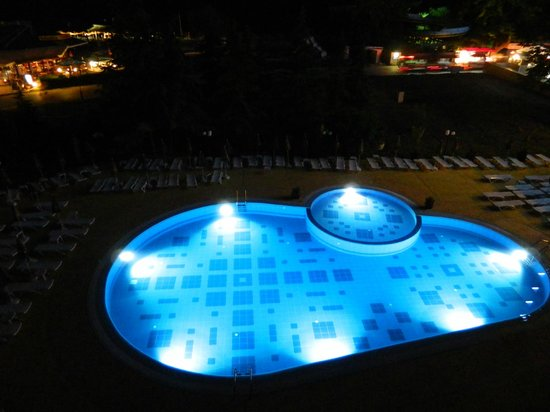 Lilia Hotel: The pool from our window