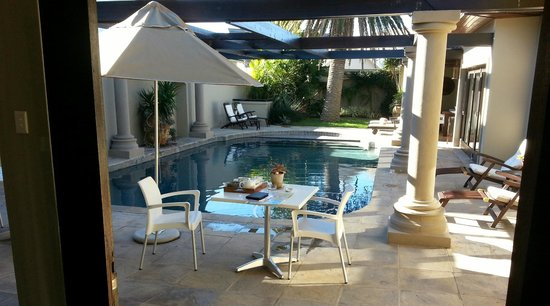 Manor 38: A poolside room location offers relaxation you deserve