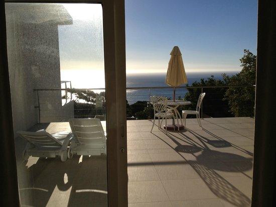 Hoopoe House : Wunderschöner Blick von gemeinsamer Terrasse