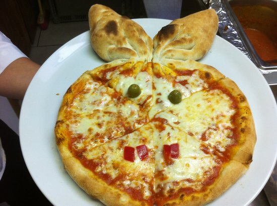 La Cucina: kids pizza