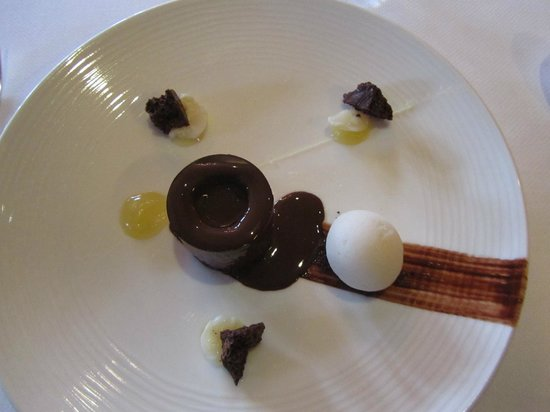 Bybrook Restaurant - Manor House Hotel: mmmm chocolate