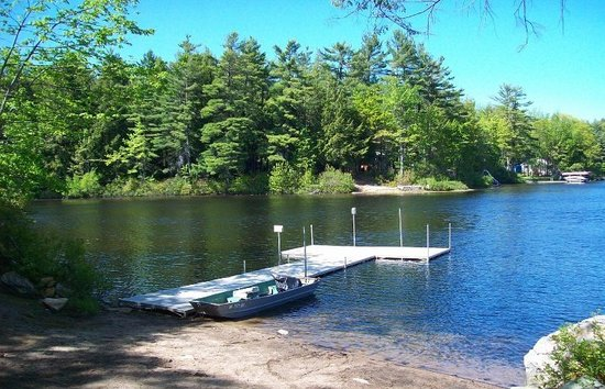 Woodmore Campground: One of 2 of our Boat Docks