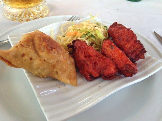 Restaurant Bombay Blue : Samosa/Bhaji