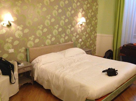 Gli Artisti Bed & Breakfast: Green room
