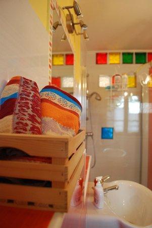 Bed & Breakfast Sela na Krasu 32: The bathroom