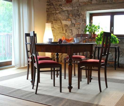 Bed & Breakfast Sela na Krasu 32: The living room