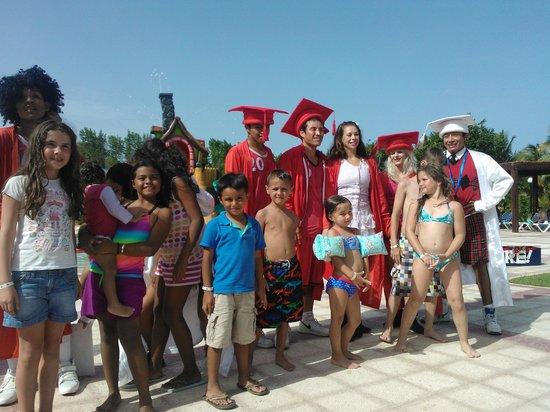 Grand Bahia Principe Coba: entretenimiento en el waterpark