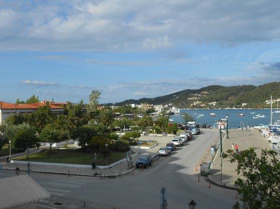Hotel Akti: Blick vom Balkon