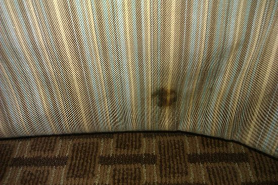 DoubleTree by Hilton Baltimore North - Pikesville : Stain on bedskirt