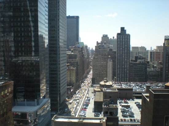 InterContinental New York Times Square: View from the room