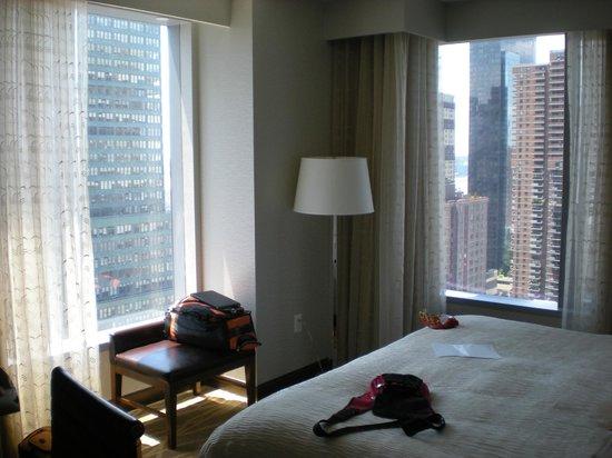 InterContinental New York Times Square: corner room