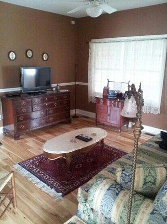 Zion Springs Bed & Breakfast: Spacious living room