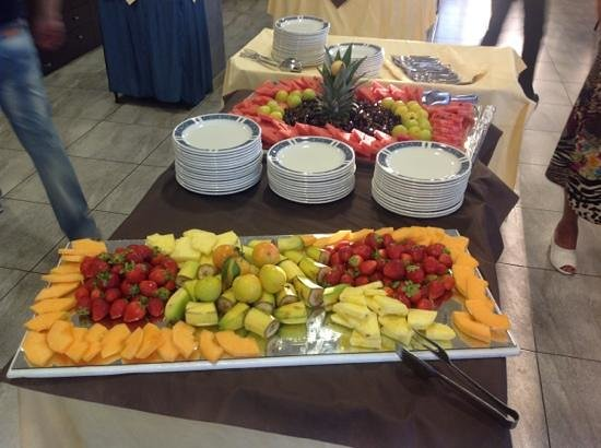 Hotel Belsoggiorno: buffet di frutta
