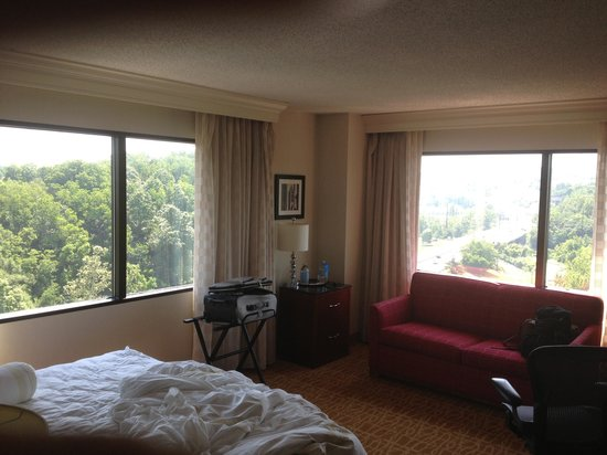 Marriott Pittsburgh Airport: room 1527
