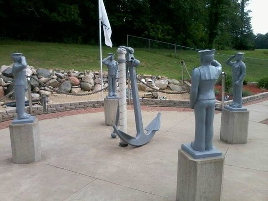 Marcellus VFW Post #4054: Navy memorial
