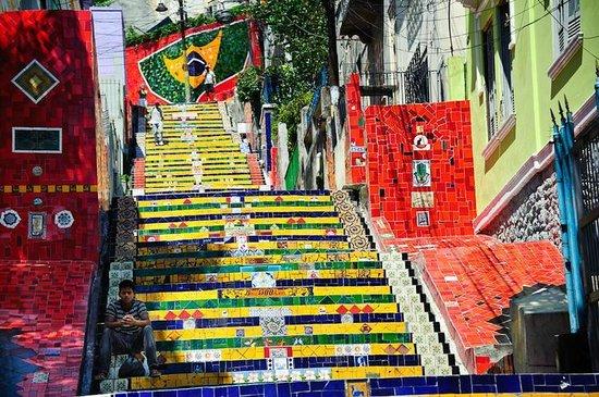 Hostel Casa da Escada: Escadaria Selaron