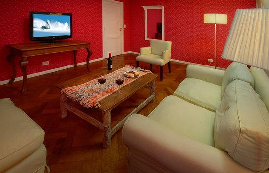 Hotel Tunquelen: Senior Suite - Living
