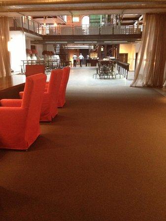 Gastwerk Hotel Hamburg : Lobby area