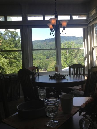 Andon-Reid Inn Bed and Breakfast: Our view at breakfast