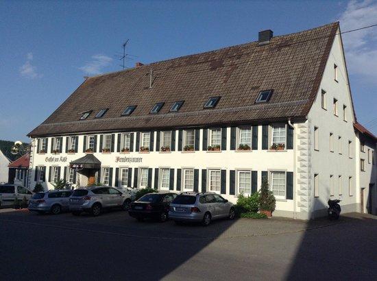Hotel Gasthof zum Roessle: Early morning June 2013