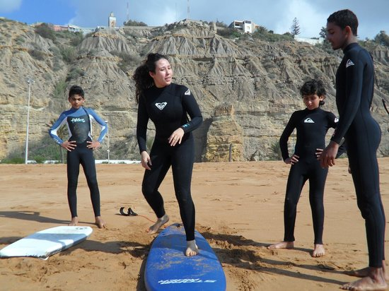 Safi Surf Camp: Surf lessons