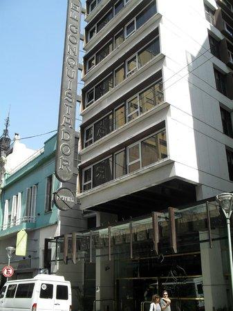El Conquistador Hotel: Fachada