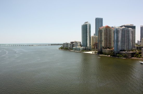 Mandarin Oriental, Miami: View from our balcony
