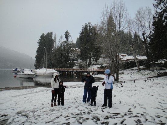 Manzano Resort: Curtindo a neve!