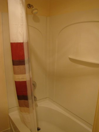 Red Roof Inn Arcata : Bathtub/Shower
