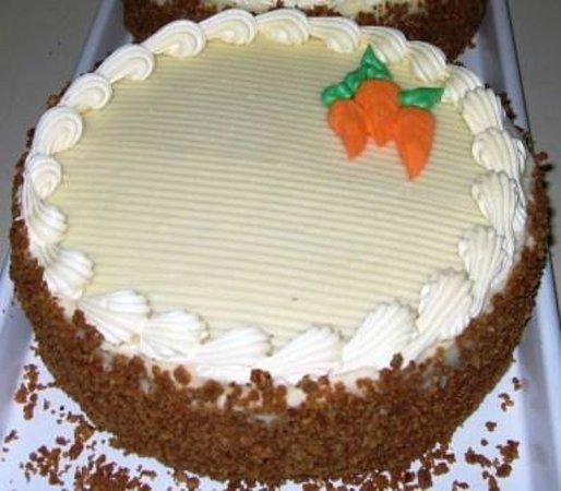 Awesome Carrot Cake Picture Of Swiss Haus Bakery Philadelphia Tripadvisor Funny Birthday Cards Online Hendilapandamsfinfo