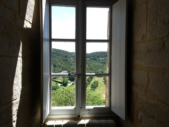 Chateau La Roque: bedroom view