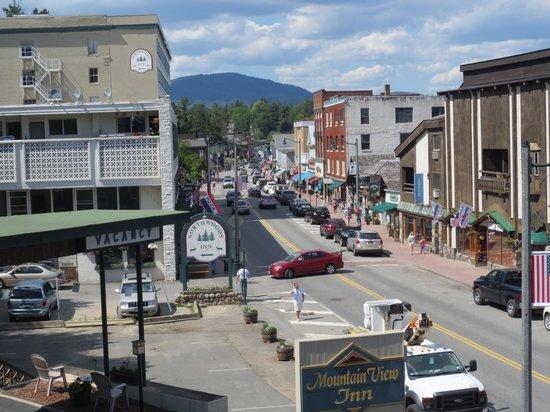 Mountain View Inn: Main Street view
