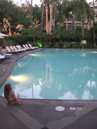 The Mission Inn Hotel and Spa: Pool in the late afternoon
