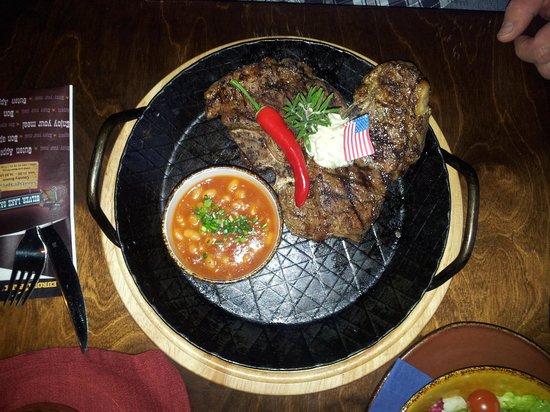 Silver Lake Saloon : T-bone Steak!