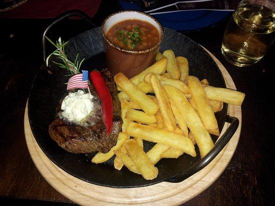 """Silver Lake Saloon : """"Buffalo Bill"""" Rindersteak mit Pommes und Bohnen!"""