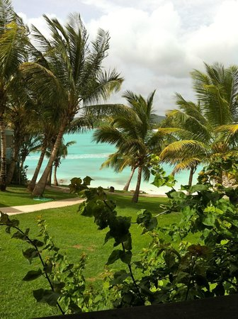 Cocobay Resort: Lush tropical gardens on the water