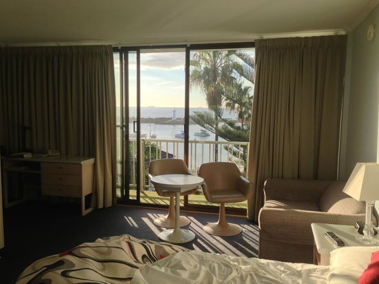 The Boat Harbour Motel : Oceanview room