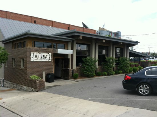 view from the street - picture of whiskey kitchen, nashville