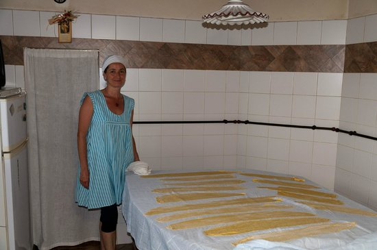 Agriturismo Terra Mia : Making pasta from scratch