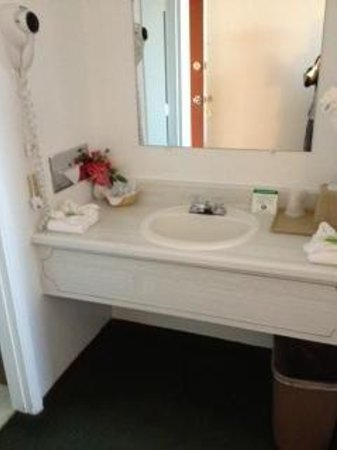 Maverick Motel: Vanity area
