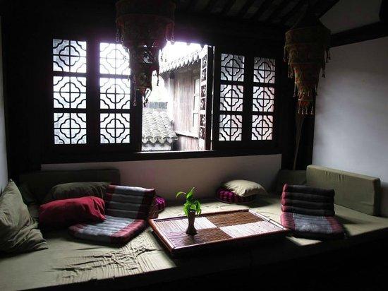 Caotang Hostel: Living room @ upper floor