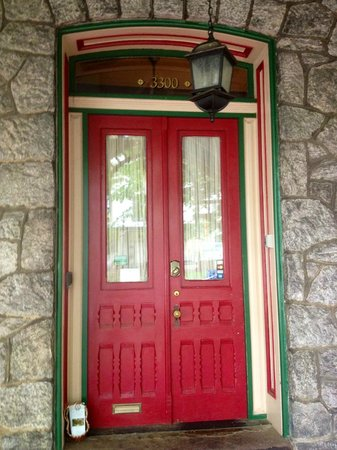 Cornerstone Bed & Breakfast: front door