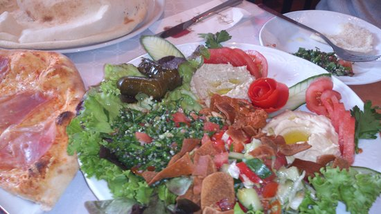 Pizzeria Aydin: Meze at Aydin