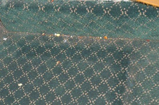 Hotel de Mendoza: Это такой грязный ковер