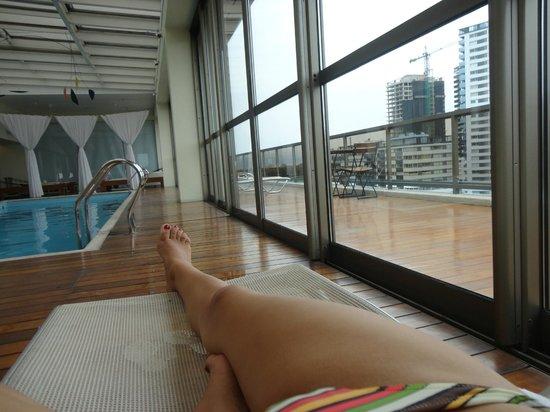Hotel Madero: piscina