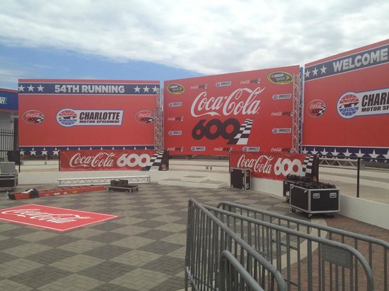 Patriotic preshow for the troops picture of charlotte Charlotte motor speedway hotels nearby